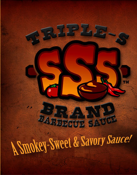 Triple-S Brand Barbecue Sauce is a smokey-sweet and savory sauce!